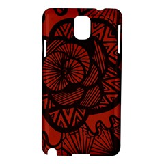 Background Abstract Red Black Samsung Galaxy Note 3 N9005 Hardshell Case