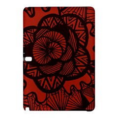 Background Abstract Red Black Samsung Galaxy Tab Pro 12 2 Hardshell Case