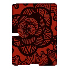 Background Abstract Red Black Samsung Galaxy Tab S (10 5 ) Hardshell Case
