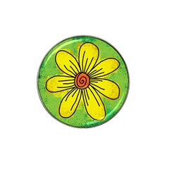Flower Cartoon Painting Painted Hat Clip Ball Marker (10 Pack)