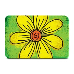 Flower Cartoon Painting Painted Plate Mats