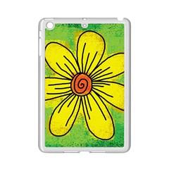 Flower Cartoon Painting Painted Ipad Mini 2 Enamel Coated Cases