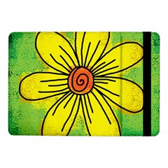 Flower Cartoon Painting Painted Samsung Galaxy Tab Pro 10 1  Flip Case