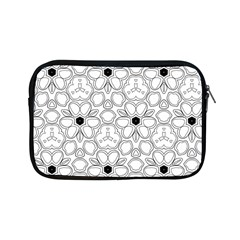 Pattern Zentangle Handdrawn Design Apple Ipad Mini Zipper Cases