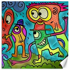 Painting Painted Ink Cartoon Canvas 20  X 20