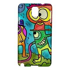 Painting Painted Ink Cartoon Samsung Galaxy Note 3 N9005 Hardshell Case