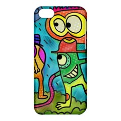 Painting Painted Ink Cartoon Apple Iphone 5c Hardshell Case
