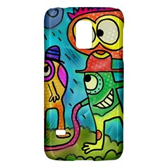 Painting Painted Ink Cartoon Galaxy S5 Mini