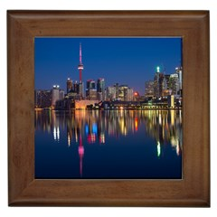 Buildings Can Cn Tower Canada Framed Tiles