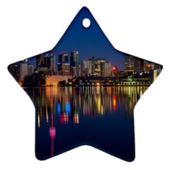 Buildings Can Cn Tower Canada Ornament (star)