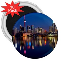 Buildings Can Cn Tower Canada 3  Magnets (10 Pack)