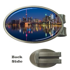 Buildings Can Cn Tower Canada Money Clips (oval)