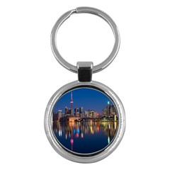 Buildings Can Cn Tower Canada Key Chains (round)
