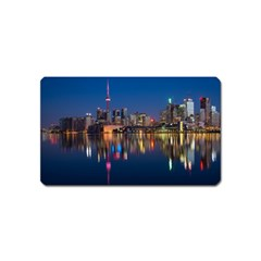 Buildings Can Cn Tower Canada Magnet (name Card)