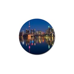 Buildings Can Cn Tower Canada Golf Ball Marker