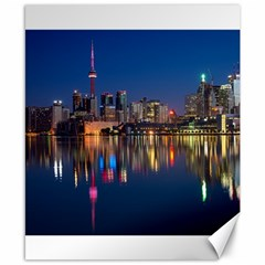 Buildings Can Cn Tower Canada Canvas 8  X 10