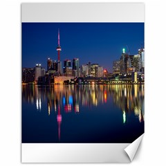 Buildings Can Cn Tower Canada Canvas 12  X 16