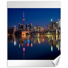 Buildings Can Cn Tower Canada Canvas 11  X 14