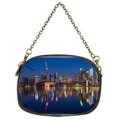 Buildings Can Cn Tower Canada Chain Purses (one Side)