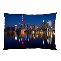 Buildings Can Cn Tower Canada Pillow Case