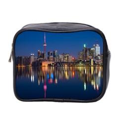 Buildings Can Cn Tower Canada Mini Toiletries Bag 2 Side