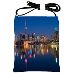 Buildings Can Cn Tower Canada Shoulder Sling Bags