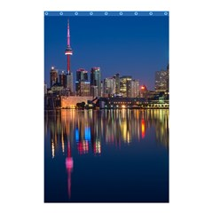 Buildings Can Cn Tower Canada Shower Curtain 48  X 72  (small)