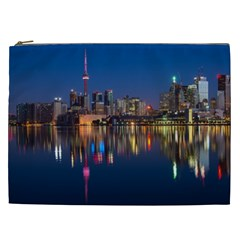Buildings Can Cn Tower Canada Cosmetic Bag (xxl)