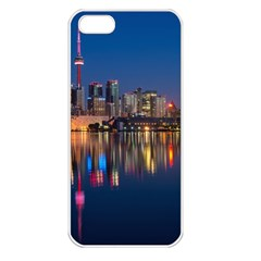 Buildings Can Cn Tower Canada Apple Iphone 5 Seamless Case (white)