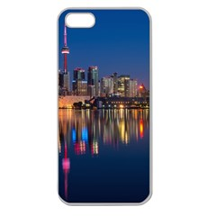 Buildings Can Cn Tower Canada Apple Seamless Iphone 5 Case (clear)