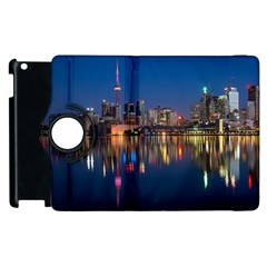 Buildings Can Cn Tower Canada Apple Ipad 3/4 Flip 360 Case