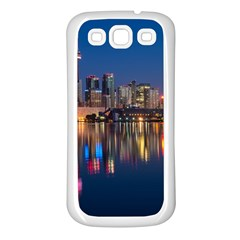 Buildings Can Cn Tower Canada Samsung Galaxy S3 Back Case (white)