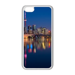 Buildings Can Cn Tower Canada Apple Iphone 5c Seamless Case (white)