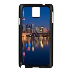 Buildings Can Cn Tower Canada Samsung Galaxy Note 3 N9005 Case (black)