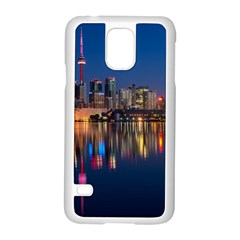 Buildings Can Cn Tower Canada Samsung Galaxy S5 Case (white)