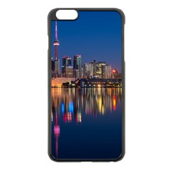 Buildings Can Cn Tower Canada Apple Iphone 6 Plus/6s Plus Black Enamel Case