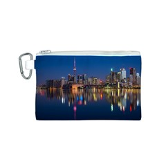 Buildings Can Cn Tower Canada Canvas Cosmetic Bag (s)