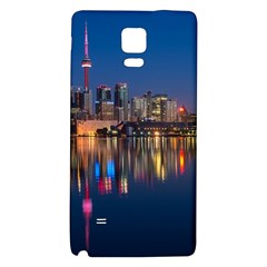 Buildings Can Cn Tower Canada Galaxy Note 4 Back Case