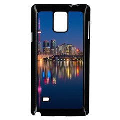 Buildings Can Cn Tower Canada Samsung Galaxy Note 4 Case (black)