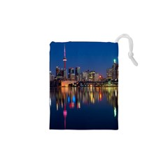 Buildings Can Cn Tower Canada Drawstring Pouches (xs)