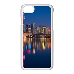 Buildings Can Cn Tower Canada Apple Iphone 8 Seamless Case (white)