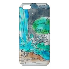 Doodle Sketch Drawing Landscape Iphone 5s/ Se Premium Hardshell Case