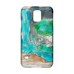 Doodle Sketch Drawing Landscape Samsung Galaxy S5 Hardshell Case