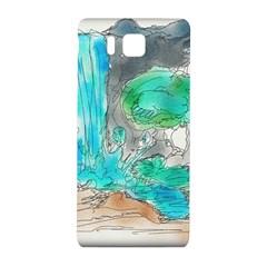 Doodle Sketch Drawing Landscape Samsung Galaxy Alpha Hardshell Back Case