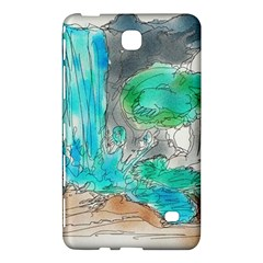Doodle Sketch Drawing Landscape Samsung Galaxy Tab 4 (8 ) Hardshell Case