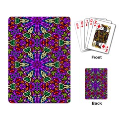 Seamless Tileable Pattern Design Playing Card