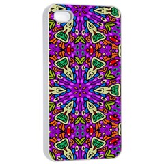 Seamless Tileable Pattern Design Apple Iphone 4/4s Seamless Case (white)