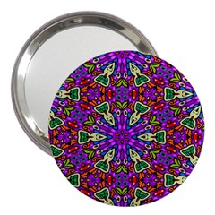 Seamless Tileable Pattern Design 3  Handbag Mirrors