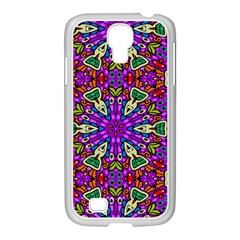 Seamless Tileable Pattern Design Samsung Galaxy S4 I9500/ I9505 Case (white)