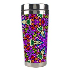 Seamless Tileable Pattern Design Stainless Steel Travel Tumblers